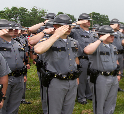 Fallen Trooper Memorial Kentucky State Police Foundation