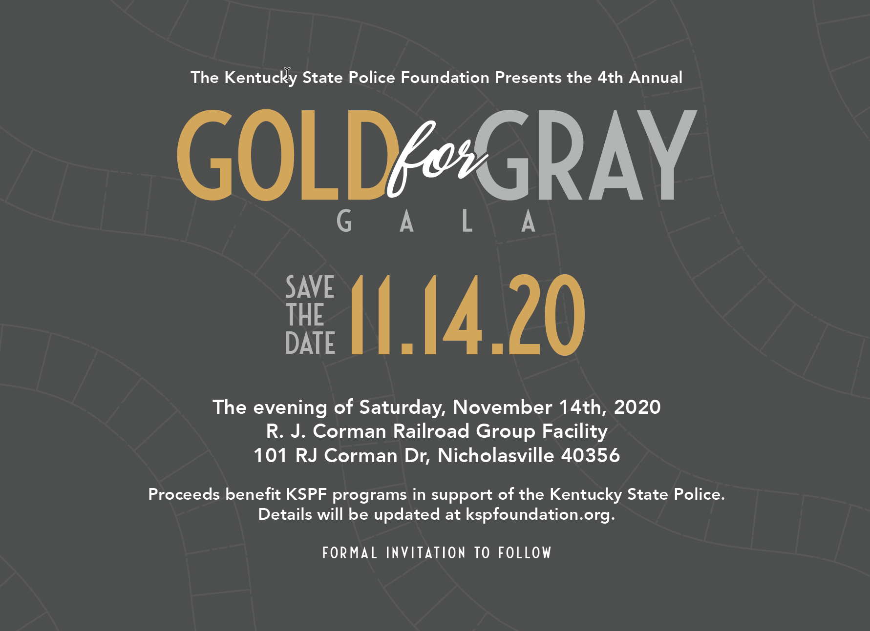 Gold For Gray Kentucky State Police Foundation Gala