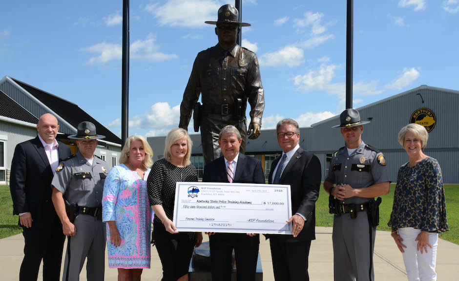 Kentucky State Police Foundation Kentucky State Police Training Academy Donation