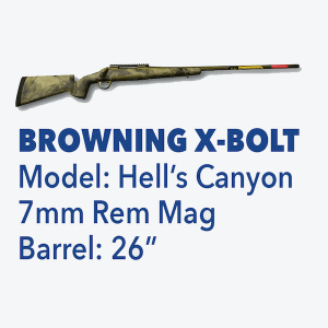 Browning X-Bolt Kentucky State Police Foundation Top Gun Firearm Raffle