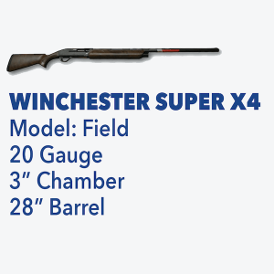 Winchester Super X4 Kentucky State Police Foundation Top Gun Firearm Raffle